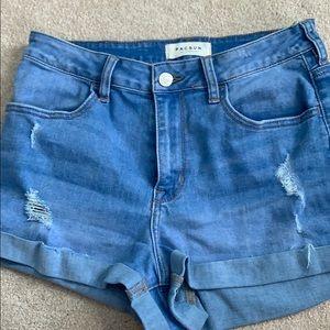 Pacsun Médium Wash Hugh Rose Jeans